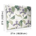 NV5528 Modern Heritage 125th Anniversary Lady Slipper by York Wallpaper