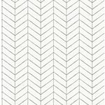 3118-25097 Birch and Sparrow Bison Herringbone by Chesapeake Wallpaper