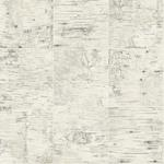 3118-12641 Birch and Sparrow Champlain Grid Wood by Chesapeake Wallpaper