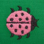 77392 Ladybird Tape Pink and Green by Schumacher Fabric3