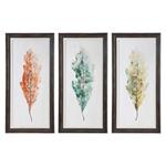 33634 Tricolor Leaves S/3 by Uttermost-3