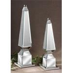 19025 Alanna Finials S/2 by Uttermost