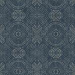 3118-12661 Birch and Sparrow Java Medallion by Chesapeake Wallpaper