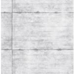 2922-22303 Trilogy Reuther Light Grey Smooth Concrete by A-Street Prints Wallpaper