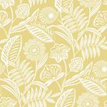 2969-87529 Pacifica Alma Yellow Tropical Floral Yellowby A-Street Prints Wallpaper