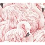 2814-803204 Bath Horace Light Pink Flamingos by Advantage Wallpaper