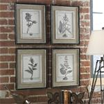 32510 Casual Grey Study I II III IV S/ by Uttermost