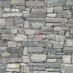 2774-859102 Stones and Woods Wrangell Grey Stacked Slate by Advantage Wallpaper