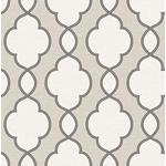 2625-21821 Symetrie Structure Silver Chain Link  by A Street Prints