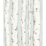 3118-12602 Birch and Sparrow Pioneer Birch Tree by Chesapeake Wallpaper