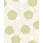 2764-24302 Blithe Gold Floral Mistral by A-Street Prints