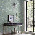 PSW1106RL Simply Candice Botanical Blue Peel and Stick Wallpaper3