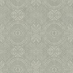 3118-12662 Birch and Sparrow Java Medallion by Chesapeake Wallpaper