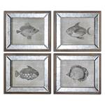41700 Mirrored Fish S/4 by Uttermost-3