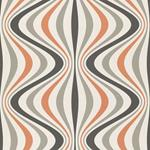 Decorline - Geo Orange Geometric Wallpaper1