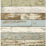 2701-22302  Reclaimed Sky Blue Textured by A-Street Prints Wallpaper