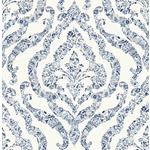 NUS3547 Blue Guildford Flowers Peel and Stick Wallpaper