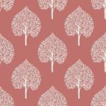 NU1698 Grove Coral Trees Peel and Stick Wallpaper