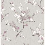 2764-24309 Bliss Purple Blossom Mistral by A-Street Prints