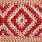 77462 Larson Tape Red and Orange by Schumacher Fabric3