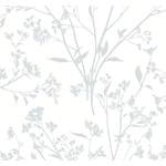 2927-80708 Newport Southport Light Grey Delicate Branches by A-Street Prints Wallpaper