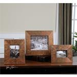 18564 Ambrosia Photo Frames S/3 by Uttermost