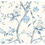 Ln11102 Southport Floral Trail Seabrook Wallpaper