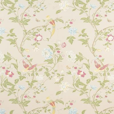 3308216 Summer Palace Linen Laura Ashley Wallpaper