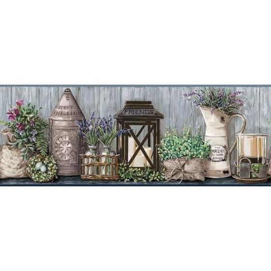 AC4357BD Country Keepsakes by York Wallpaper
