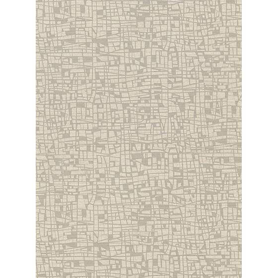 2945-1112 Warner Textures X Tiffany Taupe Abstract Geometric by Warner