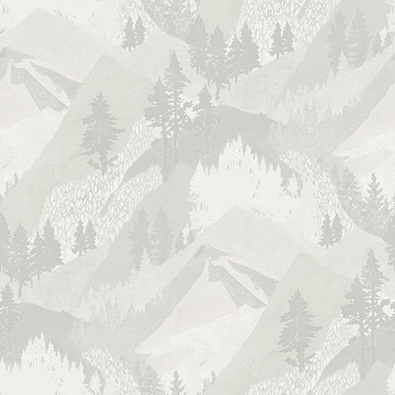 3118-12633 Birch and Sparrow Range Mountains by Chesapeake Wallpaper