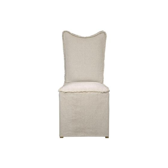 23309 Lenore Armless Chair Oatmeal 2 Pe by Utter-3