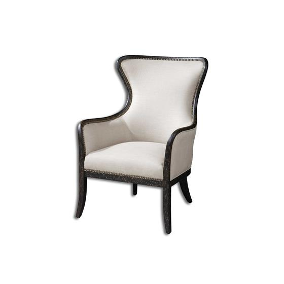 23073 Sandy Wing Chair by Uttermost-3