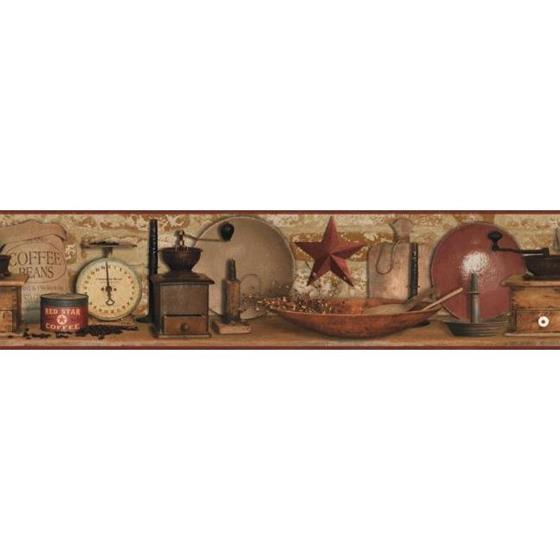 AC4397BD Country Keepsakes by York Wallpaper