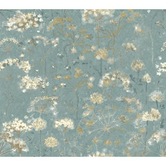 PSW1106RL Simply Candice Botanical Blue Peel and Stick Wallpaper