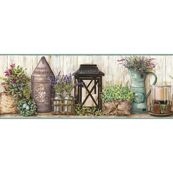 AC4356BD Country Keepsakes by York Wallpaper