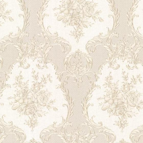 2530-20546 Satin Classics IX Beige Damasks Mirage
