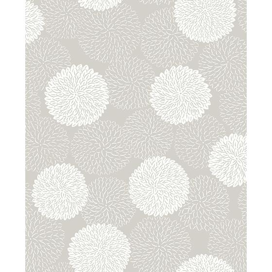 2764-24328 Blithe Taupe Floral Mistral by A-Street Prints