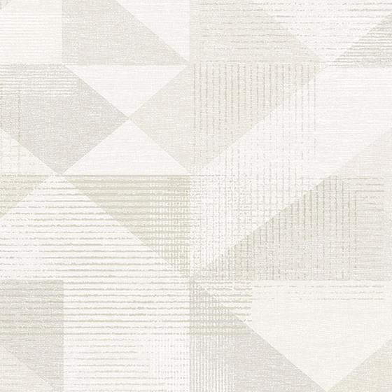 GX37653 Geometrix, Beige Silk Screen Geometric Wal