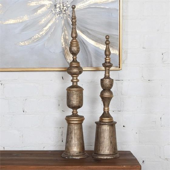 18847 Nalini Finials S/2 by Uttermost