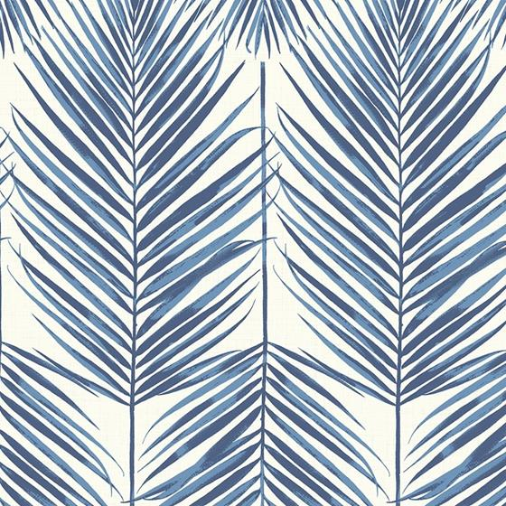 MB30002 Beach House Paradise, Coastal Blue Leaves