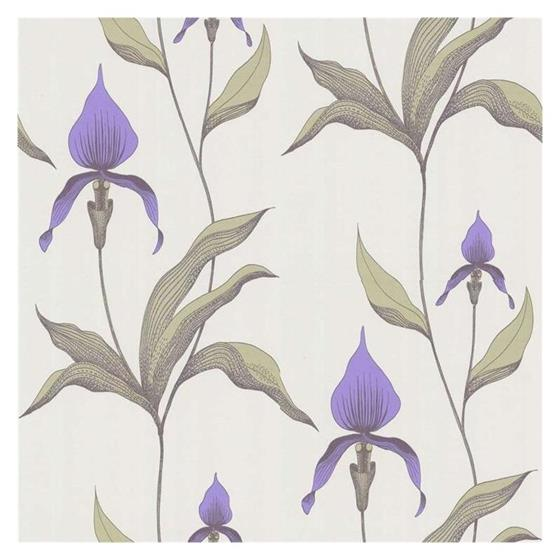 66/4024 Cole and Son Wallpaper Orchid Wallcovering