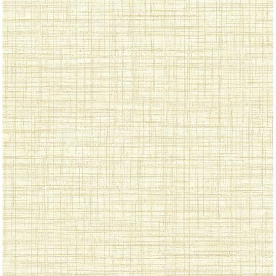 2767-24275 Tuckernuck Yellow Linen Techniques and Finishes III by Brewster