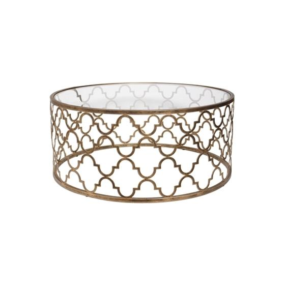 25015 Quatrefoil Coffee Table by Uttermost-3