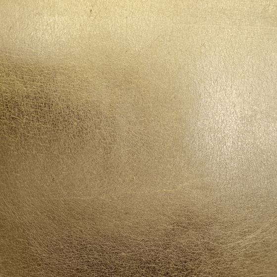 WP88334-001 Gold Leaf Gold Metal by Scalamandre