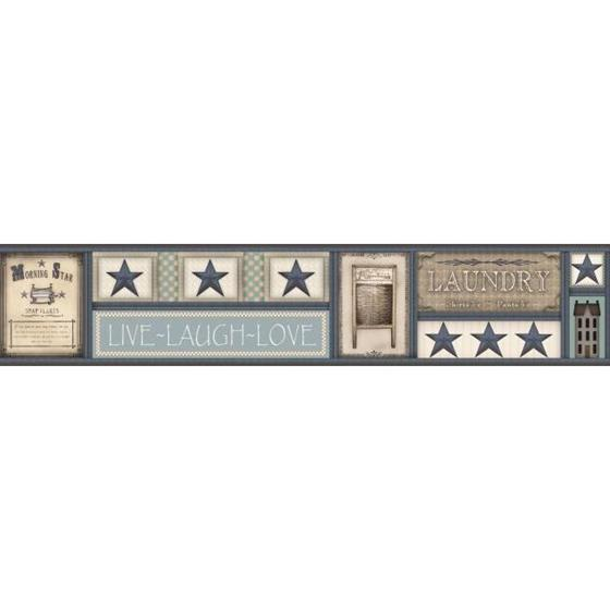 AC4380BD Country Keepsakes by York Wallpaper
