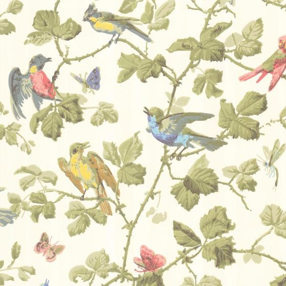 100/2006 Winter Birds Cole and Son Wallpaper