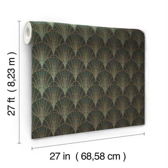 NV5548 Modern Heritage 125th Anniversary Scalloped Pearls by York Wallpaper