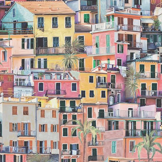 W7213-01 Manarola Wallpapers N/A by Osborne and Li