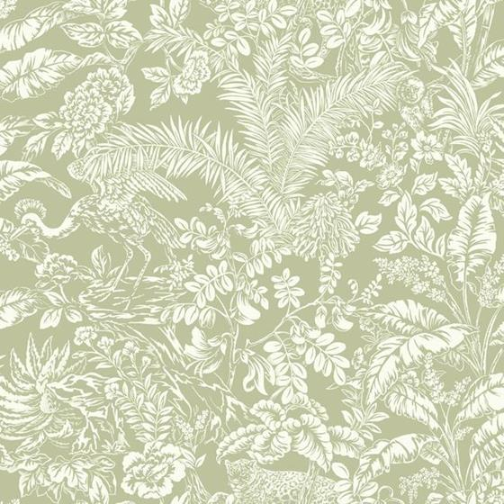 On1622 Outdoors In Botanical Sanctuary Color Green